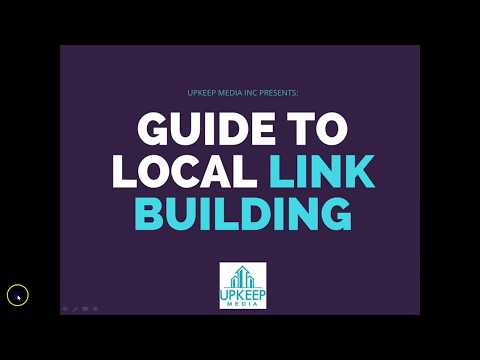 Local Link Building Tutorial: How To Build Links That Google Loves