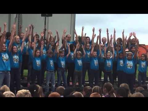 Machesney Elementary School 2015 @ Peace Plaza