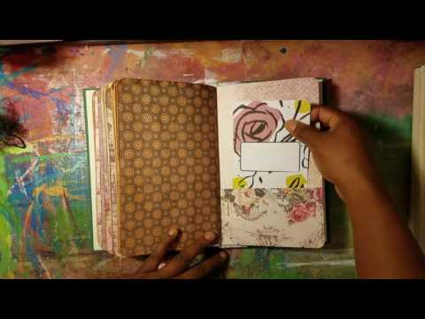 JOURNAL FLIP|| 8 New Handmade Journals