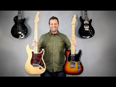 Single Coil vs Humbucker Coil Split - Guitar Tone Comparison!