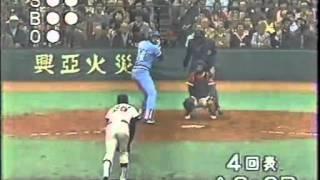 1981.11 村田兆治 日米野球