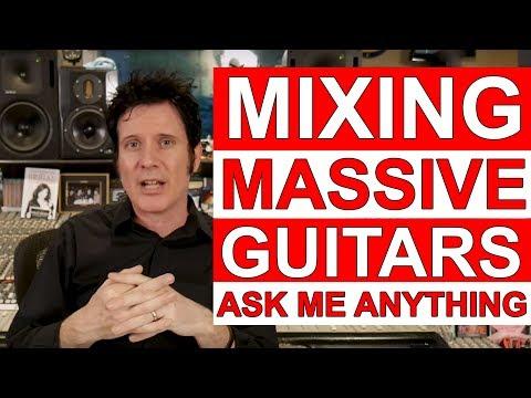 [LIVE Q&A] Mixing Massive Guitars - Ask Me Anything - Warren Huart: Produce Like A Pro
