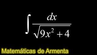 integracion por sustitucion trigonometrica ejemplo 1