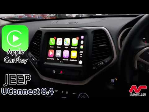 Apple Carplay Retrofit Jeep Cherokee Limited With Uconnect 8 4
