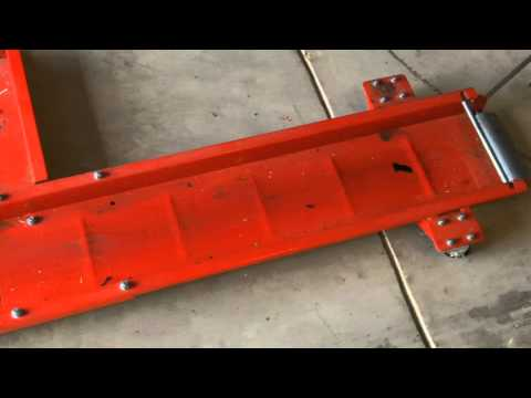 Haul-Master (Harbor Freight) Motorcycle Dolly