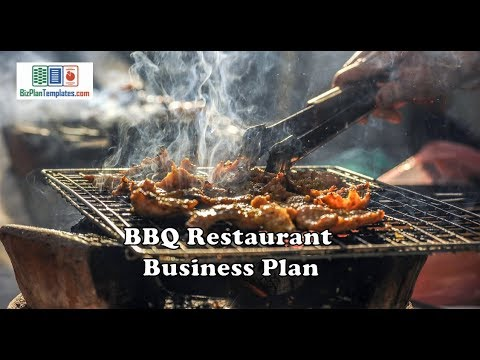 Starting a BBQ Catering Company – Sample Business Plan Template
