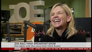 Zoe Ball Starts Radio 2 Breakfast Show