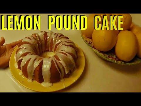 Super Moist Lemon Pound Cake Recipe Jonny Diy Youtube