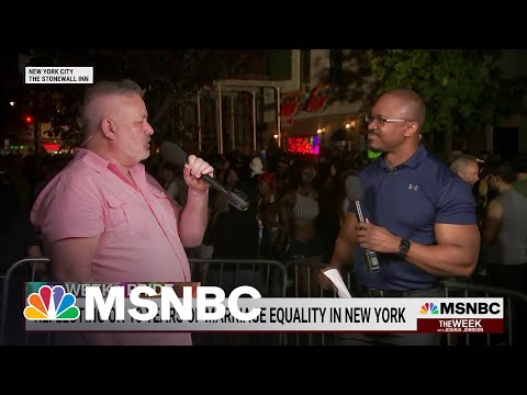 Celebrating 10 Years Of Legal Same Sex Marriage In New York   MSNBC