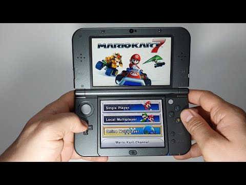 Mario Kart 7 The New Nintendo 3DSXL   Online Multiplayer Gameplay