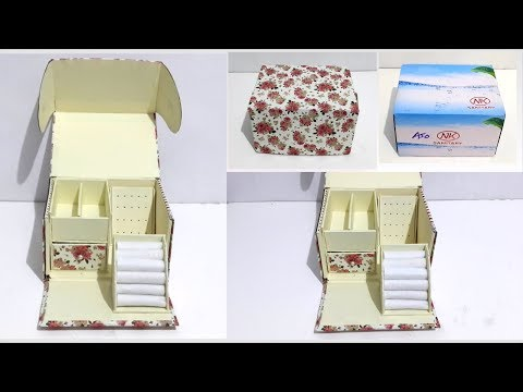 DIY Jewelry Box | Best out of waste box
