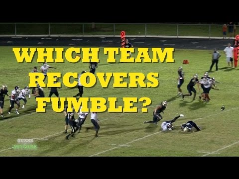 Which team recovers this fumble? - Guess the Outcome Ep 14 football highlights