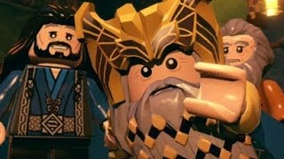 LEGO The Hobbit (PS4) Walkthrough Part 1 - Greatest Kingdom in Middle-earth