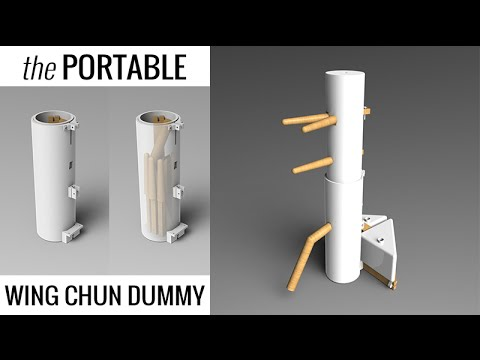 Practice Wing Chun #030 - Get your own Portable Wing Chun Dummy
