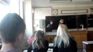 В школе!:)