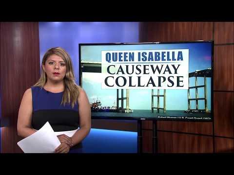 Queen Isabella causeway memorial
