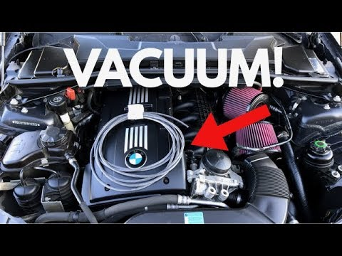 Bmw 535i 2008 >> BMW N54 Vacuum Hose DIY! - YouTube