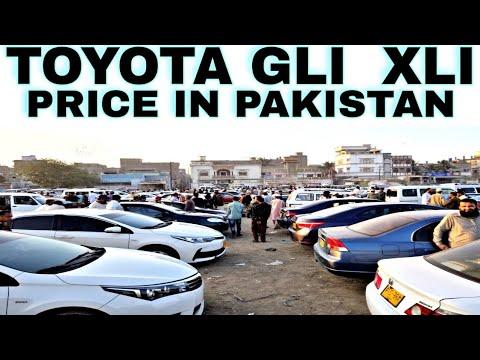 KARACHI CAR MARKET  [ TOYOTA  Xli  GLI PRICE REVIEW ] Xli GLI PRICE in Pakistan UPDATE  12, 1, 2019
