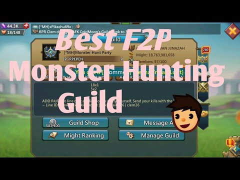 *MH Best Hunting Guild In Lords Mobile For F2p |Lords Mobile|Lords Mobile Monster Hunting Guild F2P