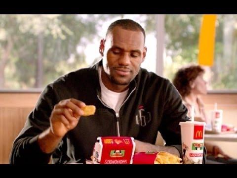 S Ad Lebron James Fast Food