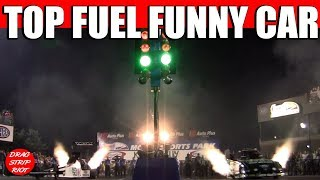 2014 Night Under Fire John Brittany Force Capps Nitro Top Fuel Dragster Funny Car Drag Racing Videos
