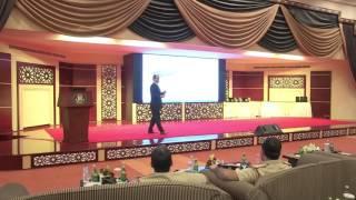 كلمة العقيد الشيخ المعلا مدير الإدارة العامة للجودة الشاملة عن مؤتمر اليوم العالمي للجودة.