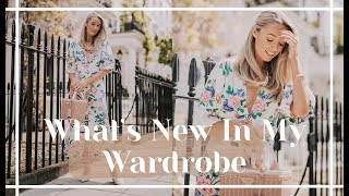 WHAT'S NEW IN MY WARDROBE // May 2019 // Fashion Mumblr