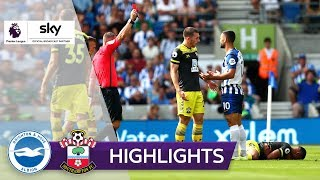 Rot für Brutalo-Foul | Brighton & Hove - FC Southampton 0:2 | Highlights - Premier League 2019/20