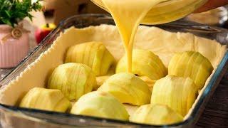 Яблочный тарт - очень сочный и вкусный. Десерт, который может приготовить каждый! | Appetitno.TV