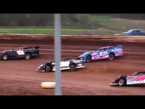 Midway Speedway Late Model Heat Race #1 5-5-18