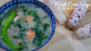 Fresh Corn Soup