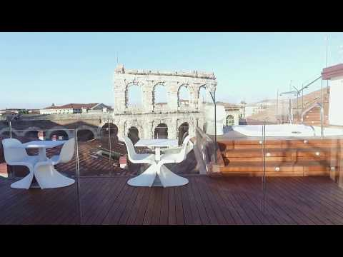 Terrazza Arena - Sky Lounge Bar - Hotel Milano - Verona