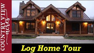 Tour Of Our Countrymark Log Home