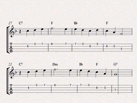 Free easy ukulele tablature sheet music, Danny Boy (Londonderry Air ...