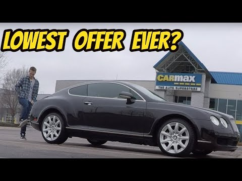 I Took My Broken Bentley Continental GT to Carmax for an Appraisal