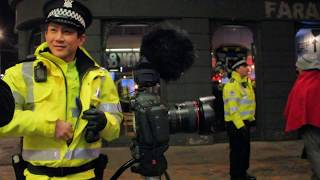 Surrounded by Police for public street photography