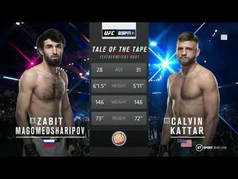 Download Zabit Magomedsharipov  Vs. Calvin Kattar  /full fight