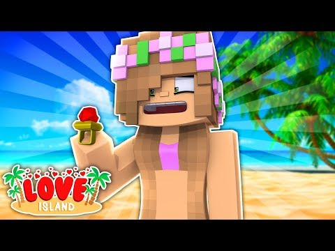 LITTLE KELLY GETS ENGAGED ON THE ISLAND? Minecraft Love Island