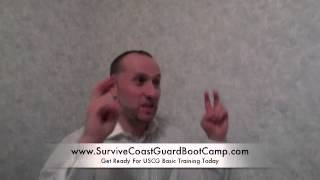 Survive Coast Guard Boot Camp Author Interview / Prepare For Coast Guard Boot Camp