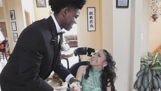 Teen With Cerebral Palsy Has Magical Prom Night Thanks to Best Friend