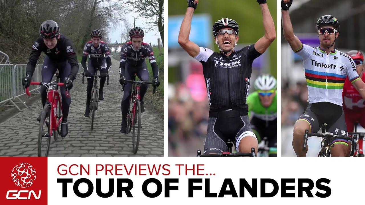 4352b64ba GCN Previews The 100th Tour Of Flanders – De Ronde Van Vlaanderen Race  Preview. Global Cycling Network