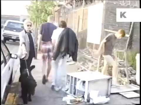 Rare Late 1980s New York Footage of Walk Through Meatpacking District
