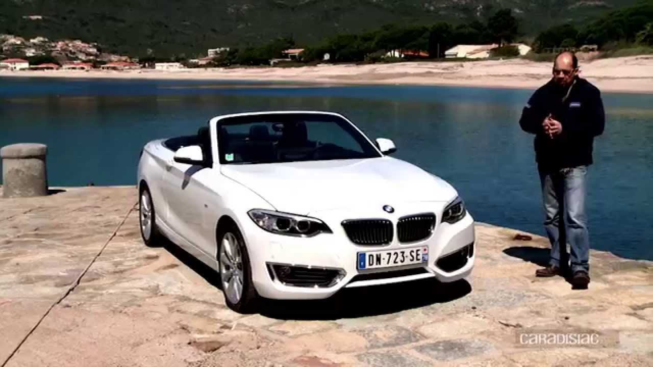 essai vid o bmw s rie 2 cabriolet youtube. Black Bedroom Furniture Sets. Home Design Ideas