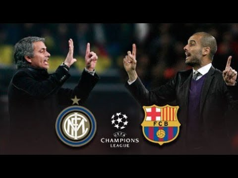 Mourinho tactics VS Guardiola tactics - Tactical analysis of Inter milan - Barcelona 3-1 2010