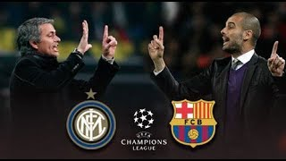 Mourinho tactics VS Guardiola tactics - Tactical analysis of Inter milan - Barcelona 3-1 2010