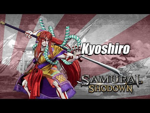 Check out Samurai Shodown's old boy Kyoshiro and new gal Wu-Ruixiang