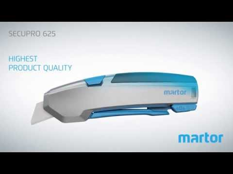 Safety knife MARTOR SECUPRO 625 product video GB from YouTube · Duration:  2 minutes 10 seconds