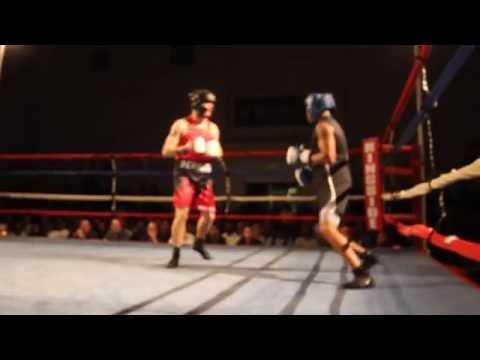 Chuck Morgan Chris Wilson Fight Night XIV Bermuda March 10 2012