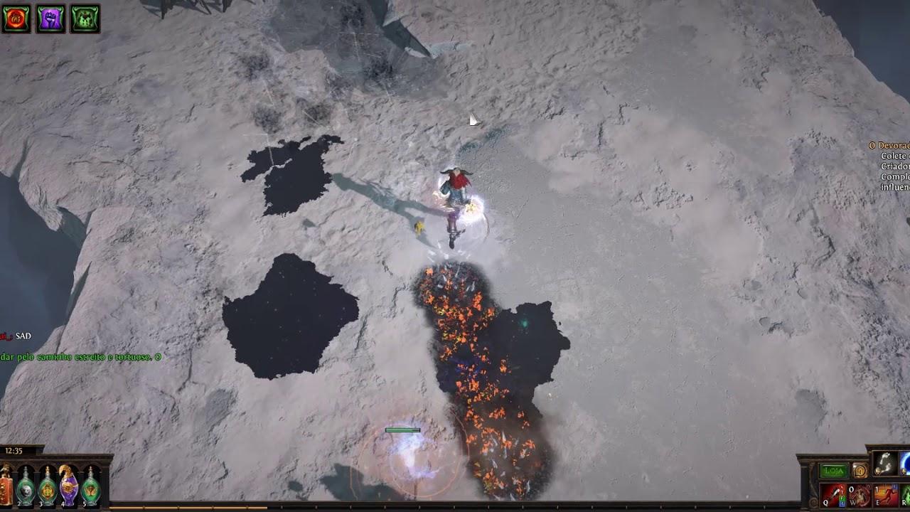 Volatile dead + unearth Devouring diadem Totem 3 5