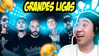Coreano reacciona a Grandes Ligas 😂 Lupillo Rivera, Alemán, Santa Fe Klan, B-Real, Snoop Dogg